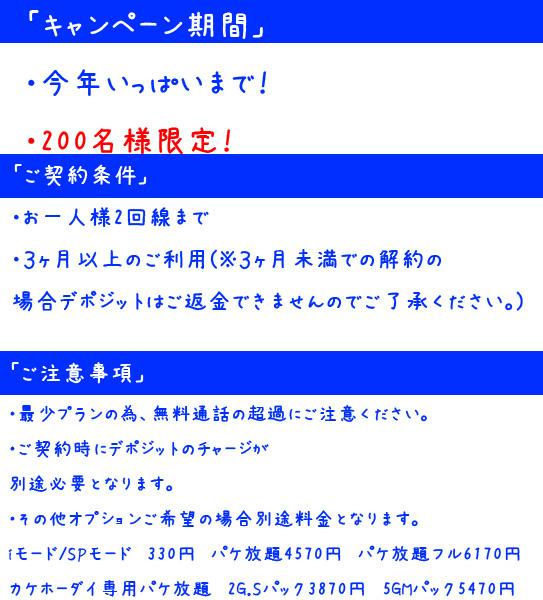 一円キャンペーン規約 10